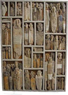 Ten Works of Driftwood Art