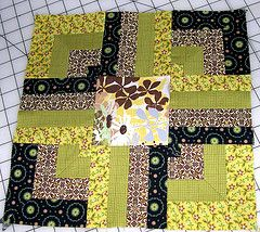 Layer Cake quilt along block ..... This may come in handy as I ordered a pack of layer cake