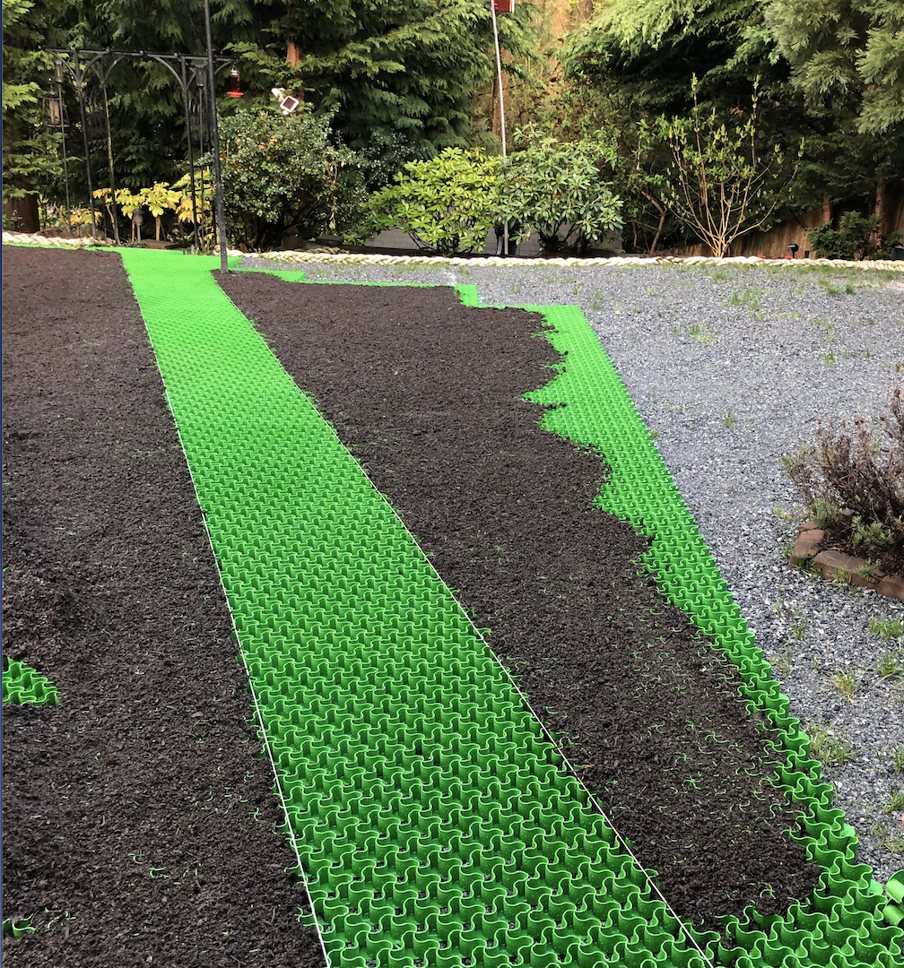 Easypave Grid Grass Gravel Paving System Grass Driveway Planting Grass Permeable Paving
