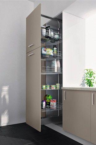 Rangement Coulissant Amorti Pour Colonne H 200 Cm Magasin De Bricolage Brico Depot De Lorient Colonne De Rangement Cuisine Rangement Rangement Cuisine