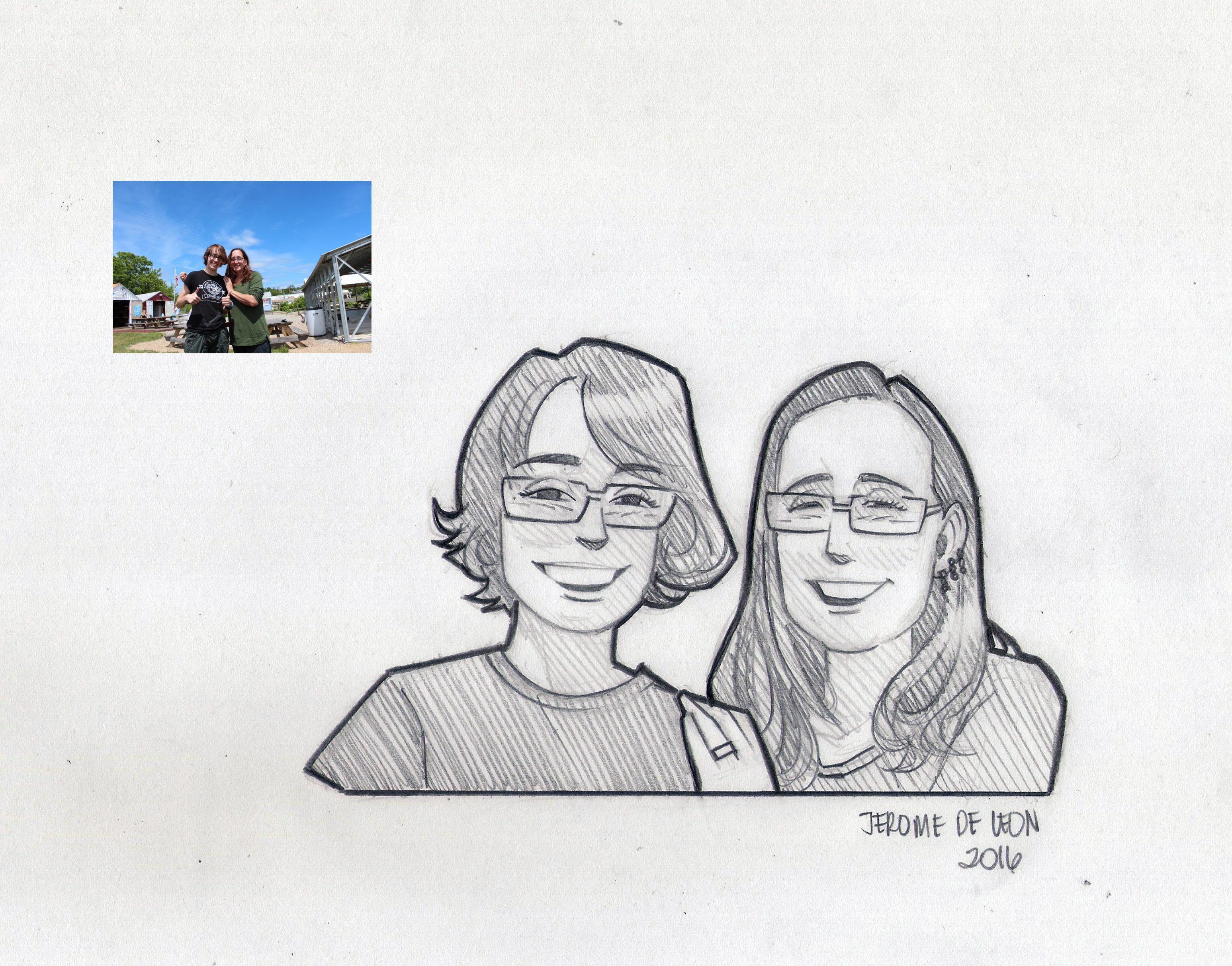 Jerome Sample 9 #Hier können Sie sich einen Eindruck über die Qualität der Zeichnungen von Jerome machen#