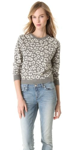 Marc by Marc Jacobs Lita Cheetah Sweater, $ 188.