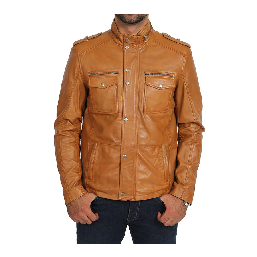 Mens Stylish Fashion Real Leather Jacket in 2020 Real