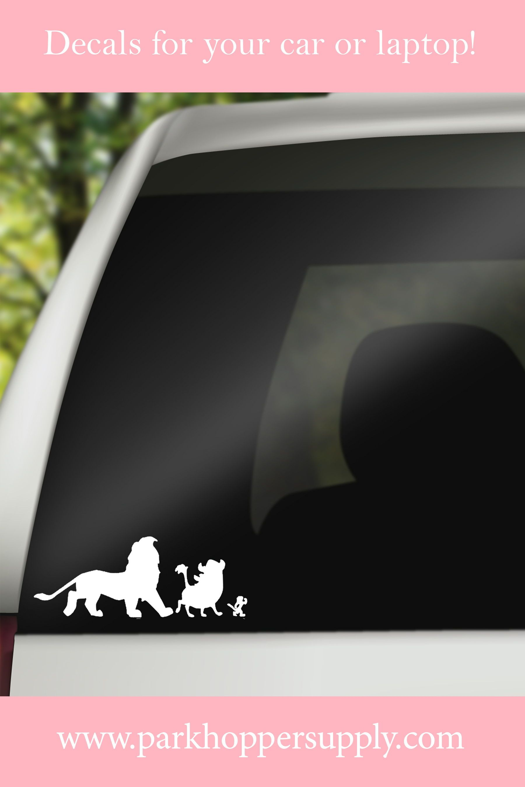 Lion King Car Decal Decals Park Designs Car Decals [ 2700 x 1800 Pixel ]