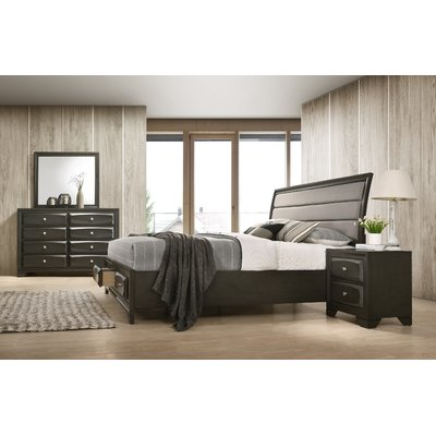 Best Winston Porter Gauch Platform 4 Piece Bedroom Set Wood 400 x 300