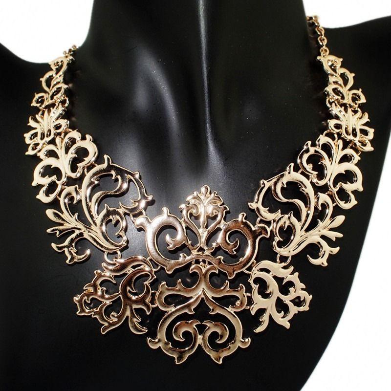 e2ca3fea3be3 Collar Dorado De Moda Vintage Accesorios De Dama Bisuteria -   140.00 en  MercadoLibre