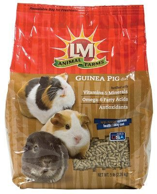 Lm Animal Farms Guinea Pig Diet Pellet Food 5 Lbs Products