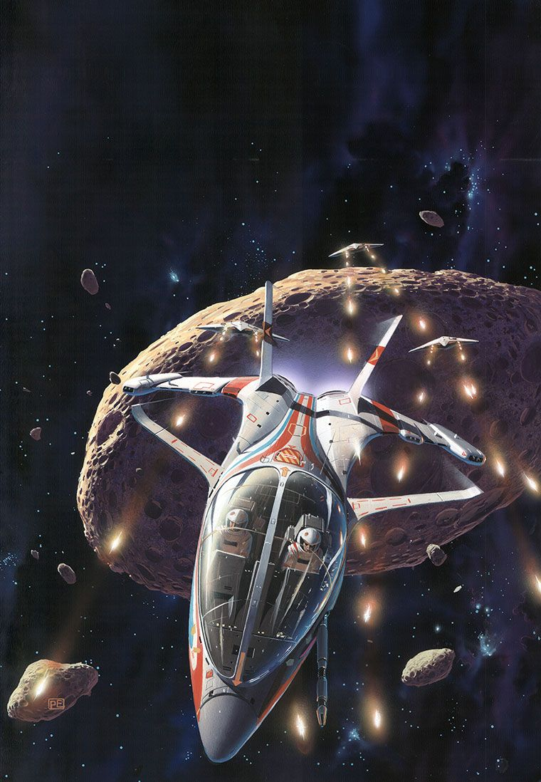 The Classic Sci-Fi Art of Peter Elson
