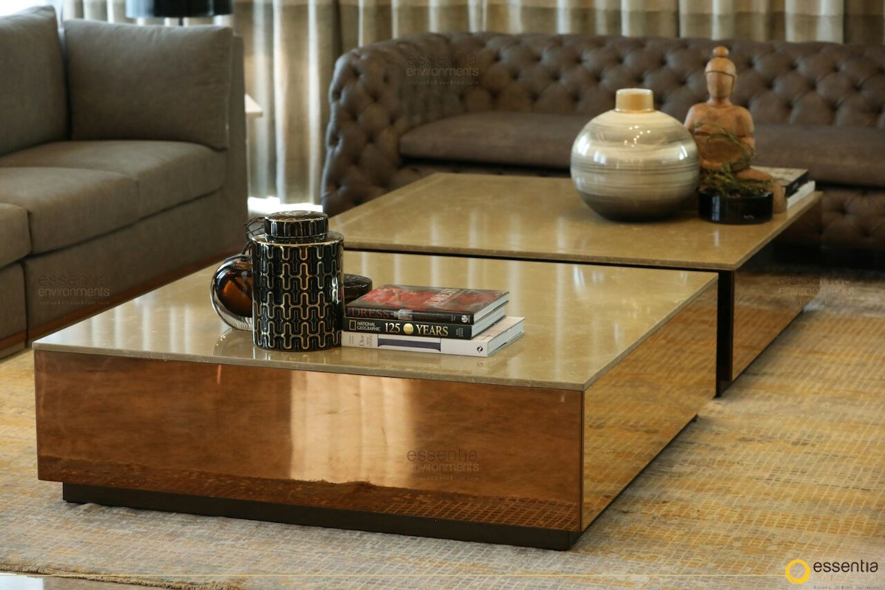 Designed And Styled By Monica Chawla Of Essentia Environments Custom Made At Essentia Custom Made Furniture Coffee Table Custom Furniture [ 853 x 1280 Pixel ]