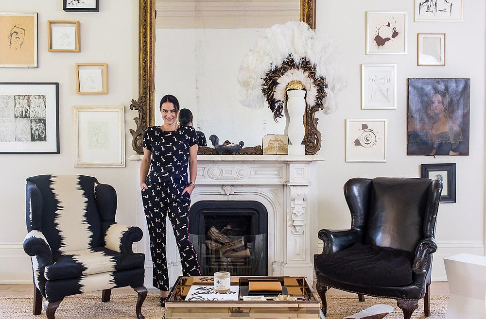 New Orleans Homes Tour Sara Ruffin Costellos Striking And Stylish Home