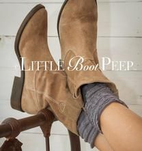 Little Boot Peep Boot Toppers