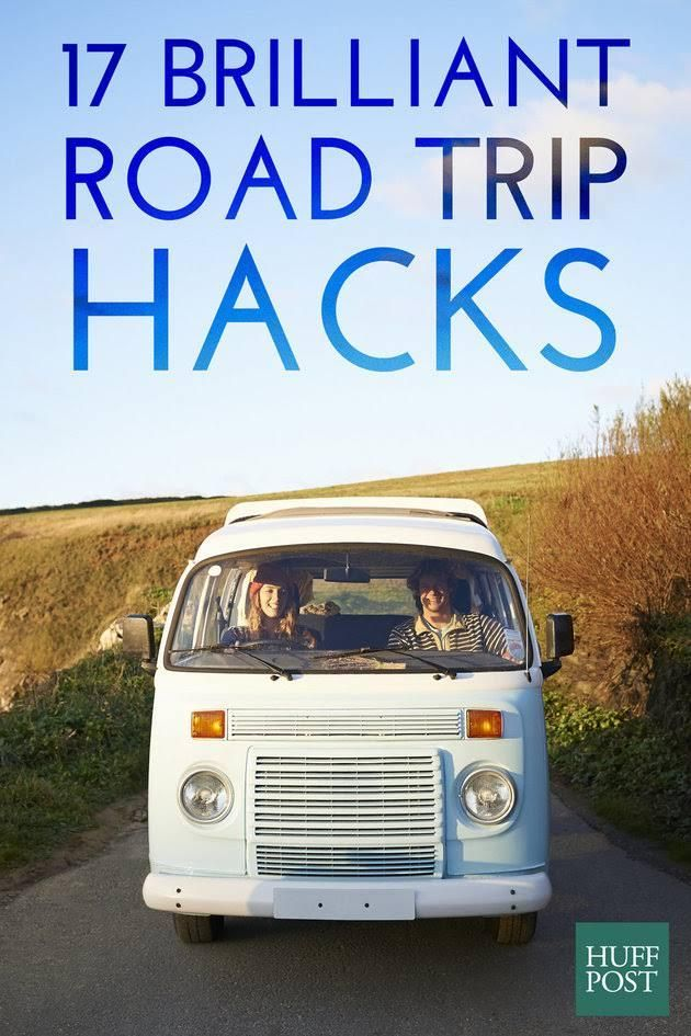 17 road trip hacks that will save your summer traveling v roce