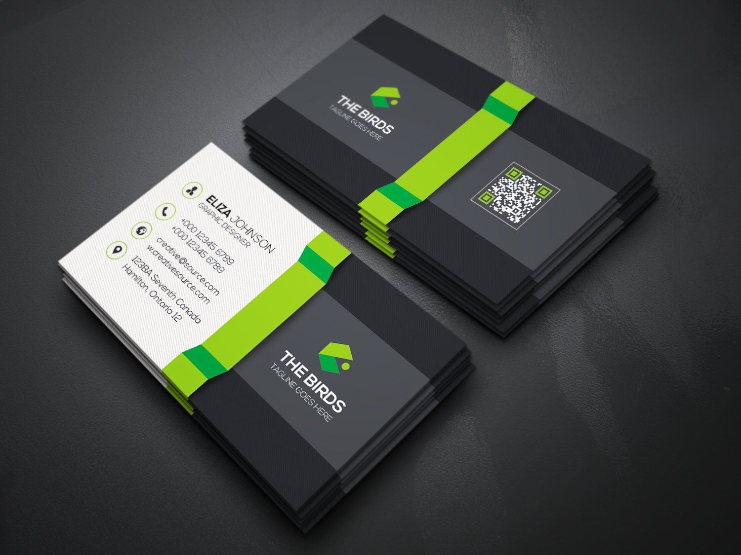 3d Business Card 3d Business Card Business Card Template Business Cards