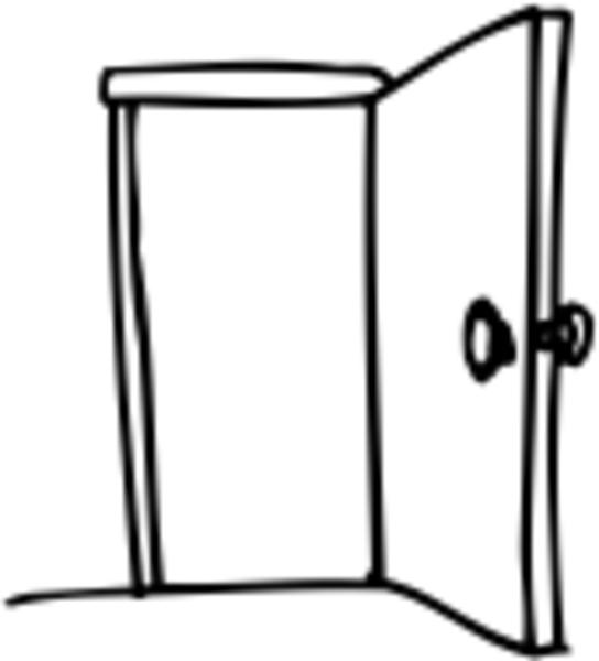 Open Door Free Clipart Clipart Kid Free Clip Art Clip Art Silhouette Images