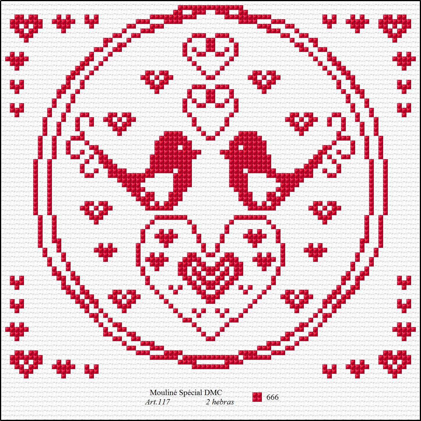 Ficha del mes-Pajaritos - Simulation | x stitchy | Pinterest ...