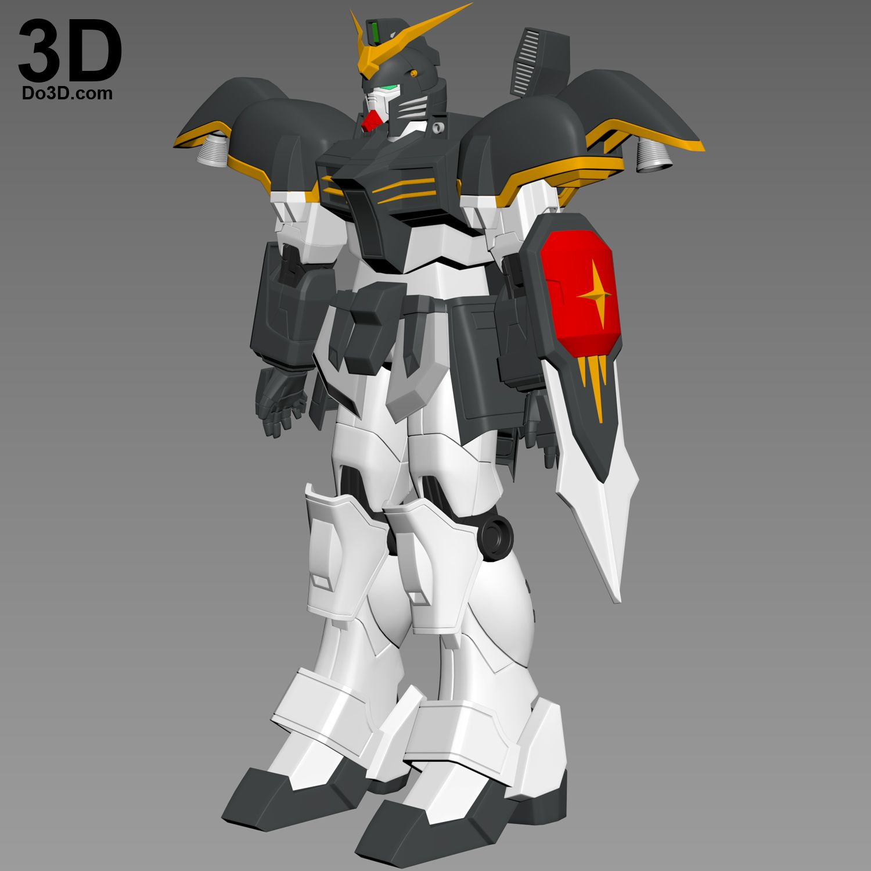 8bc791219 3D Printable Model: XXXG-01D Gundam Deathscythe Full Body Armor   Print  File Formats: STL – Do3D.com