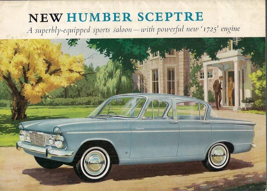 Humber Sceptre Mk2 1725cc Saloon 1965-66 UK Market Sales Brochure ...