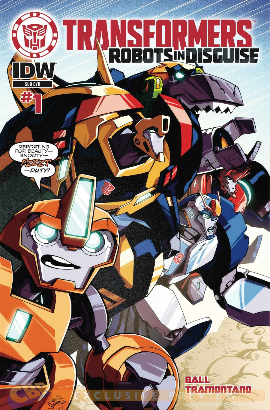 "Images for : EXCLUSIVE: IDW Sets Lineup for ""Transformers: Robots in Disguise"" Comic - Comic Book Resources"