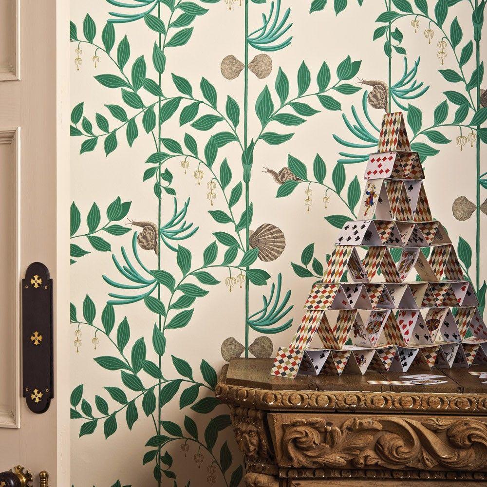 Cole Son Whimsical Secret Garden Wallpaper Dekoracje