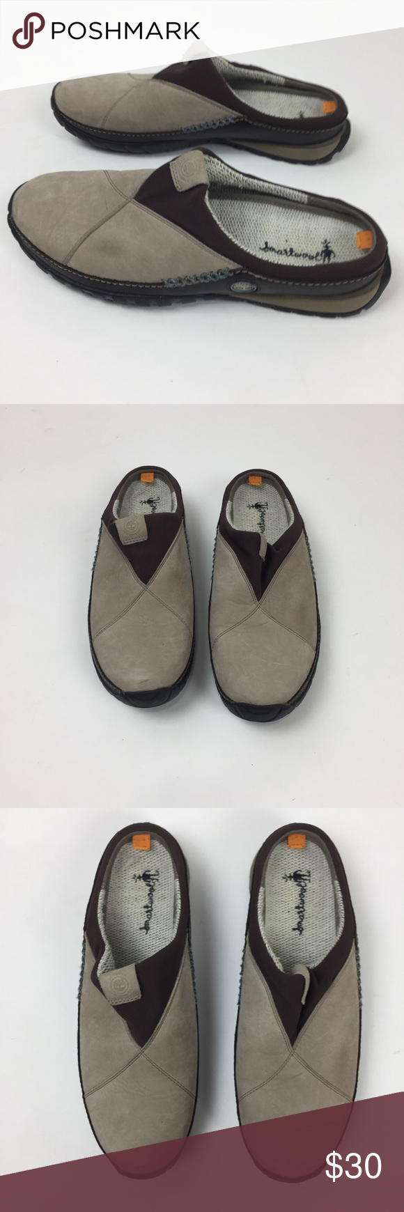 c120ceaf3cd Timberland Nubuck smartwool Power Lounger Clogs Great condition. See photos  Timberland Shoes Mules & Clogs