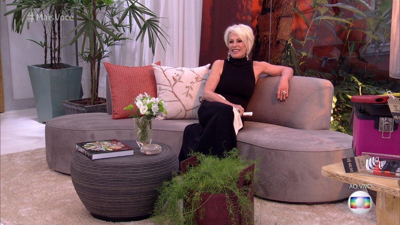 Ana Maria Braga Mostra Detalhes Do Novo Cenario Do Mais Voce