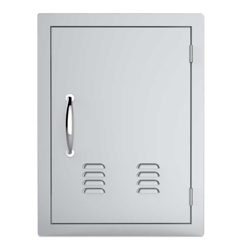 Sunstone Classic 17 Inch Right Hinge Single Access Door With Vents Vertical A Dv1724 Built In Grill Outdoor Kitchen Design Kitchen Builder