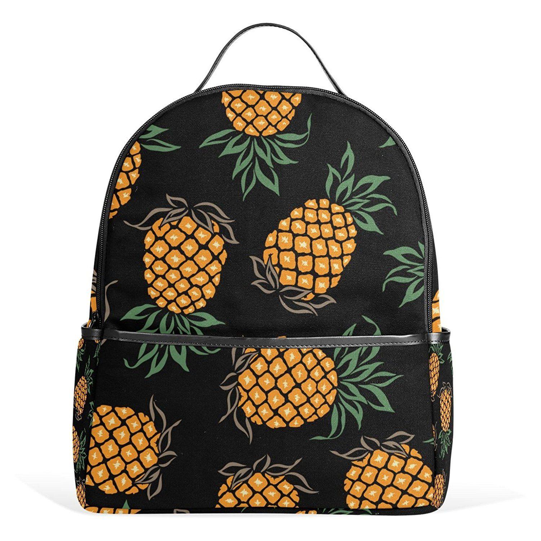 053bd8571d6d JSTEL Pineapple School Backpacks for Boys Girls Bookbag ** Click ...