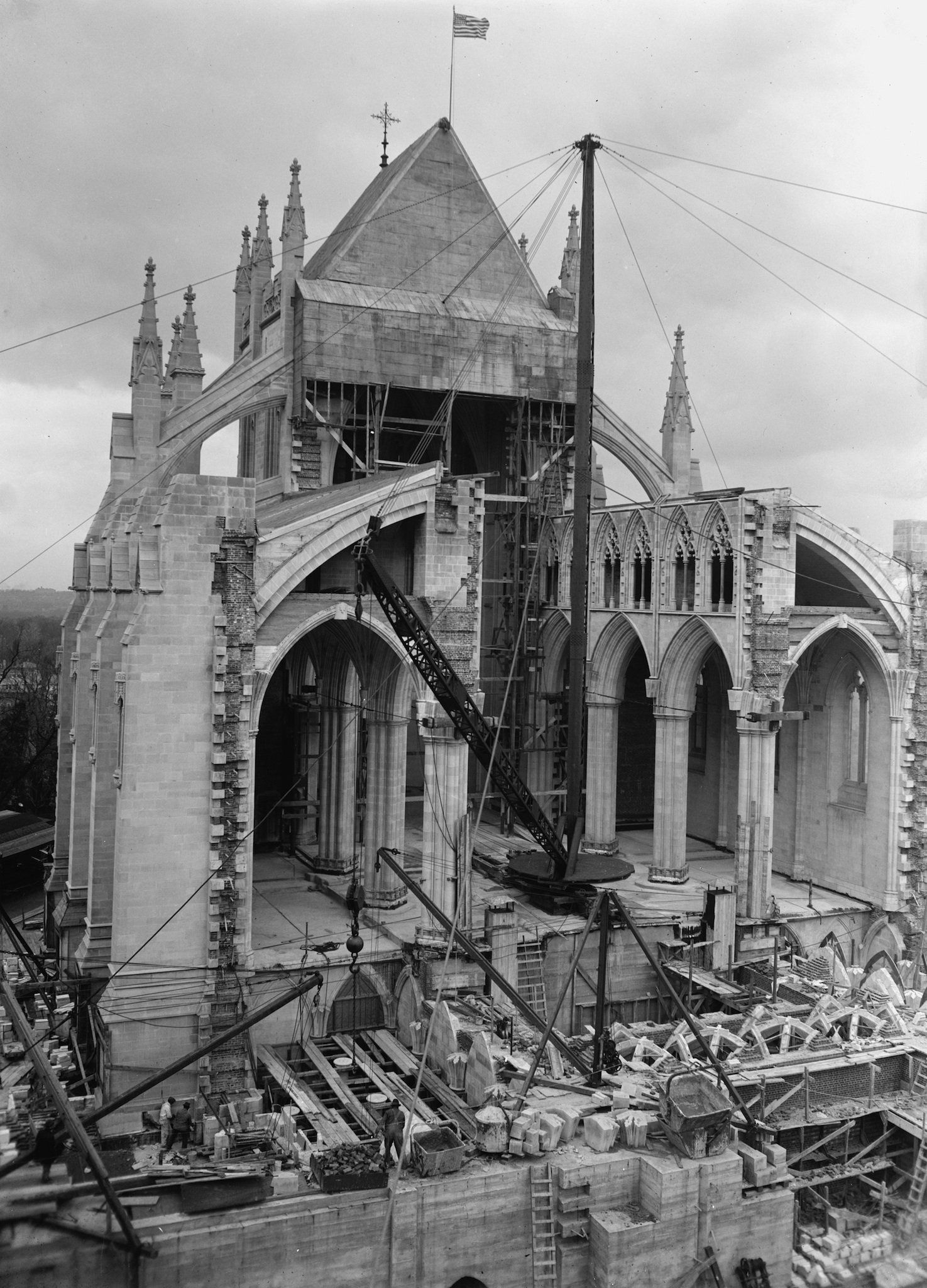 Check Out The National Cathedral Under Construction In