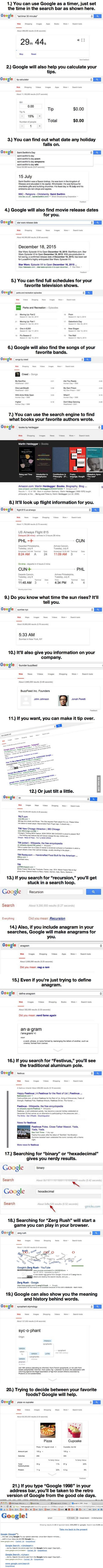 After You Learn These  Google Tricks The Internet Will Never Be