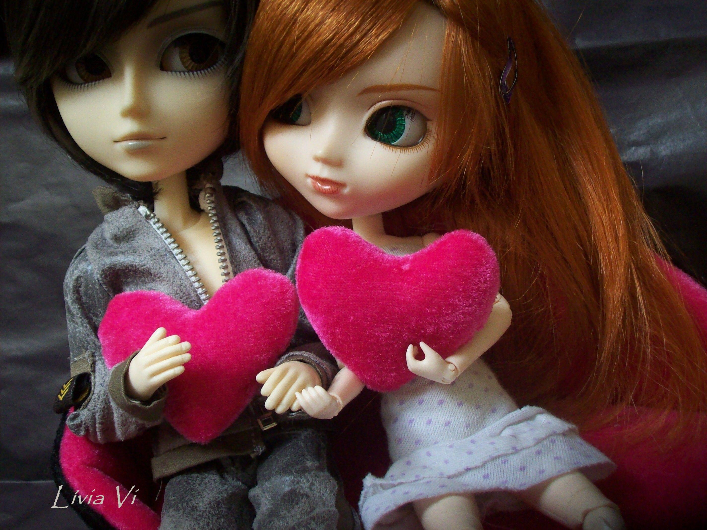 Jamie Taeyang Wayne Emilie Pullip Craziia By Livia Vi Cute Dolls Beautiful Dolls Cute Couple Wallpaper