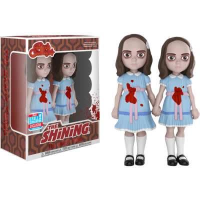 The Grady Twins The Shining NYCC Rock Candy Funko Vinyl