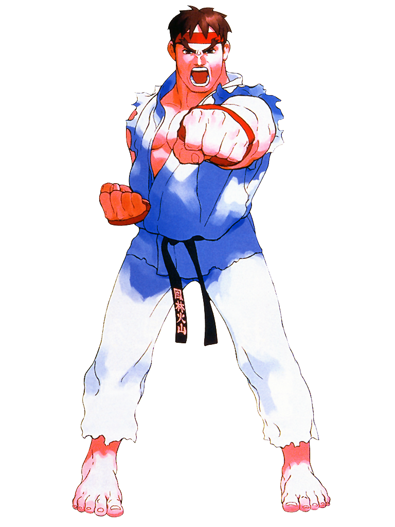 Street Fighter Ex Ryu By Hes6789 Street Fighter Ex Street