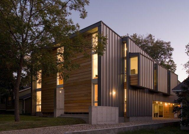 fairfield house modern exterior - Modern Home Exterior Siding