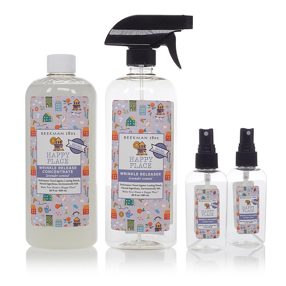 Exclusive Happy Place Wrinkle Release 20 Oz Concentrate Set