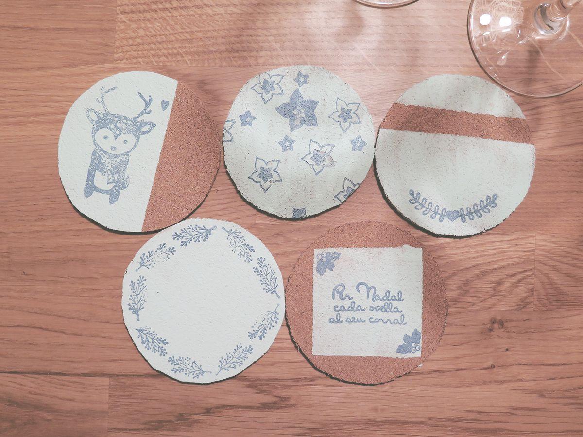 Posavasos con sellos Gigietmoi