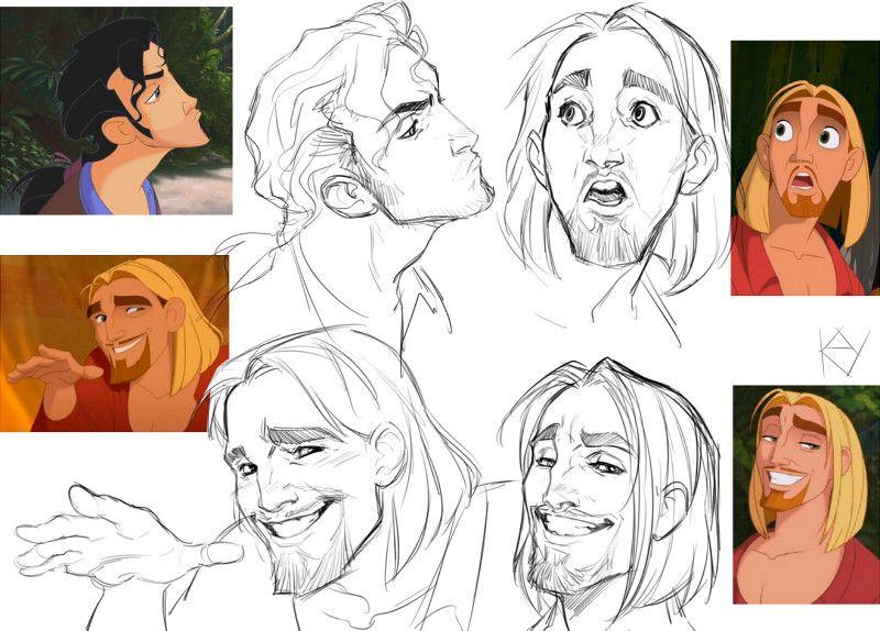 Pin by nog8 on Disney Drawings, Art reference, Disney art