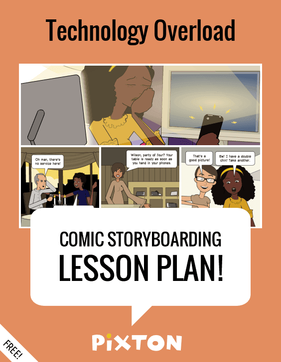 Your students will love writing about SOCIAL MEDIA with Pixton comics and storyboards! This FREE lesson plan features a Teacher Guide and themed props. PLUS 3 awesome activities with interactive rubrics and student examples.