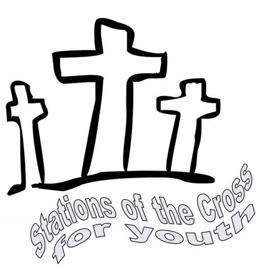 stations of the cross for youth adapted from the episcopal book of rh pinterest ca  stations of the cross clipart free