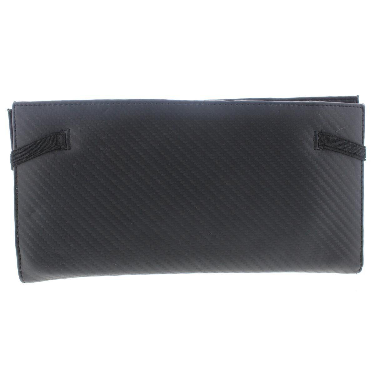 Zara Mens Faux Leather Textured Traveler Wallet
