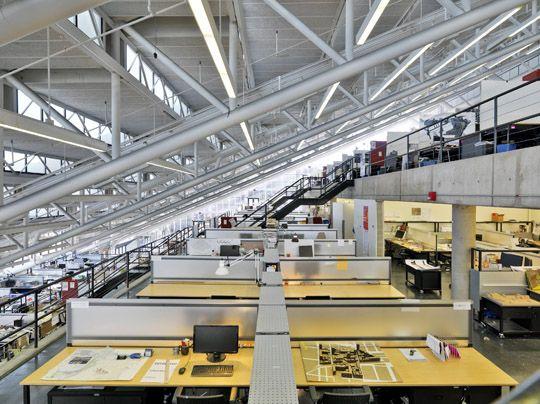 Gund hall studios architecture interiors school - Interior design graduate programs ...