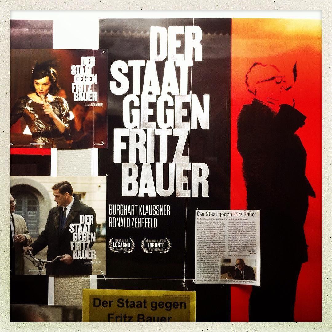 #hamburg #cinema #movie #holi #holikino #kino #lightbox #poster #movieposter #derstaatgegenfritzbauer by jui_fischer