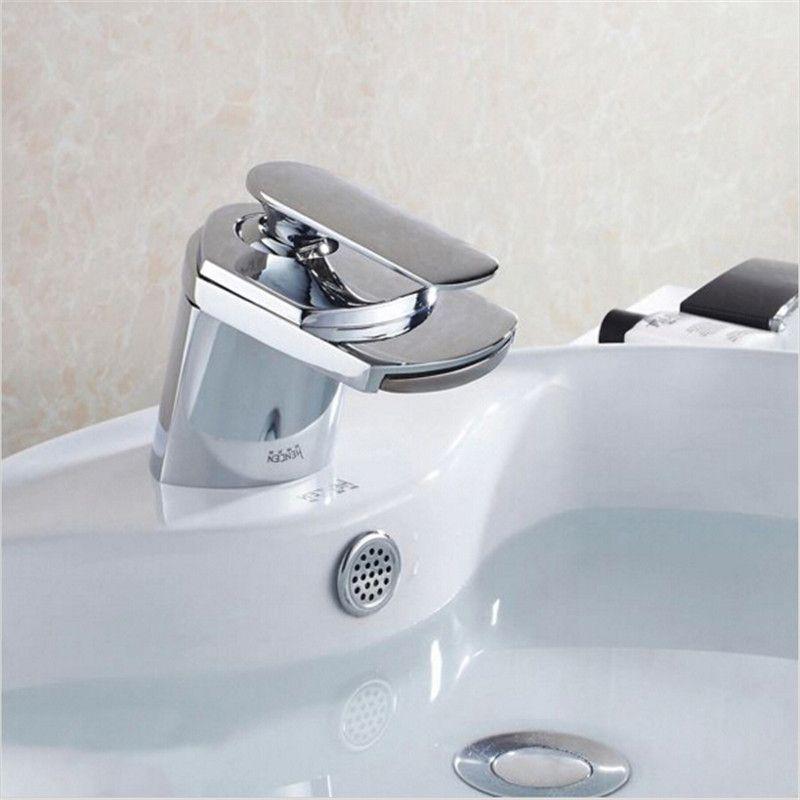 Goedkope Messing materiaal verchromen moderne design badkamer ...