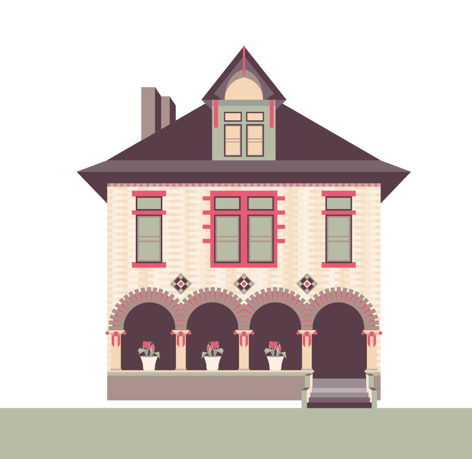 house vector illustration - Google Search | INFOGRAPHICS ...