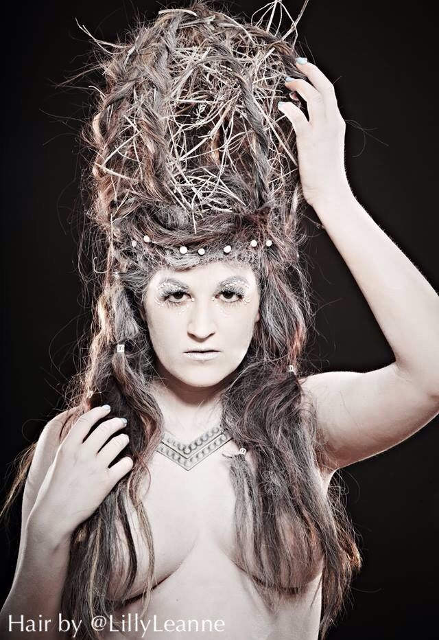 creative hair avant garde hairstyling