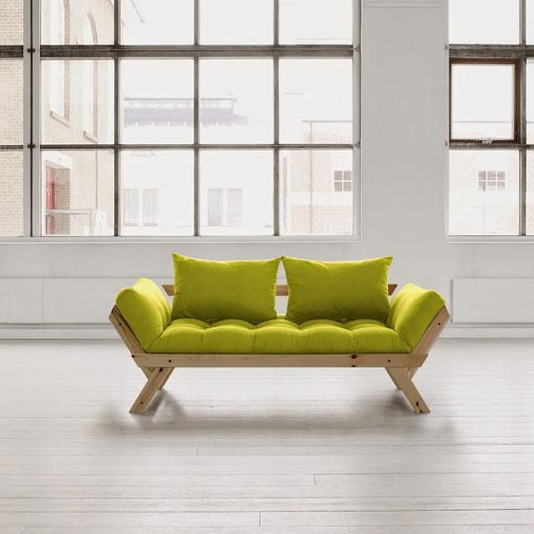 Diván cama Bebop verde pistacho | Consultorio | Pinterest | Divan ...
