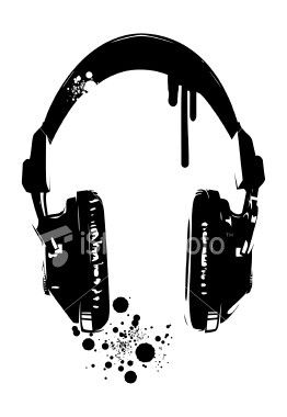 headphones stincels pinterest headphones tattoo and tatt. Black Bedroom Furniture Sets. Home Design Ideas