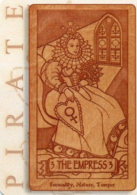 Empress from the Pirate Tarot