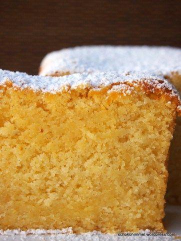 Mandeliger Mandarinen Griesskuchen Bakery Pinterest Kuchen