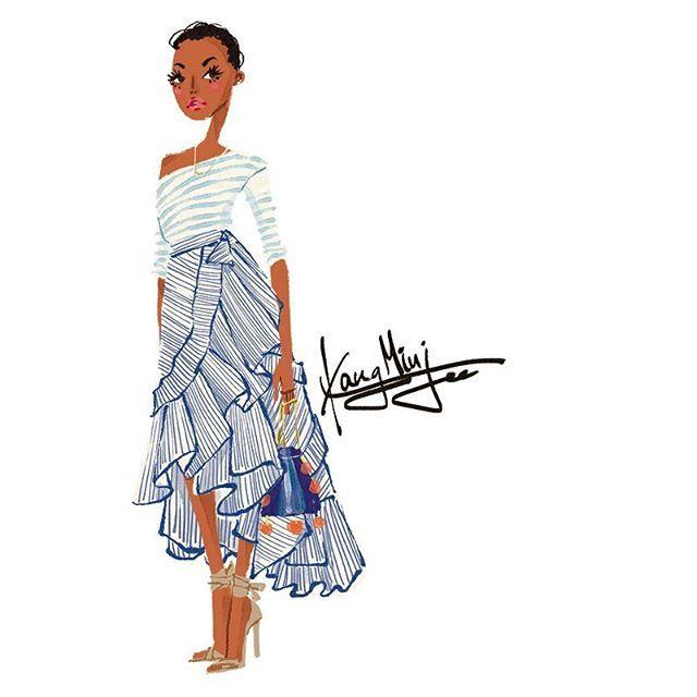 <Fashion Week Sketch> J. Crew 2017SS  #fashion #fashionista #fashionstyle #fashionable #fashiongram #fashionpost #fashionillustration #fashionblog #fashionblogger #illustration #drawing #artwork #instafashion #fashionweek #bigfashionbook #kangminjee #minjeekang  #패션 #패션스타그램 #패션일러스트 #패션일러스트레이션 #패션일러스트레이터 #일러스트 #일러스트레이션 #일러스트레이터 #강민지 #강민지작가 @jcrew #제이크루 #jcrew #newyorkfashionweek