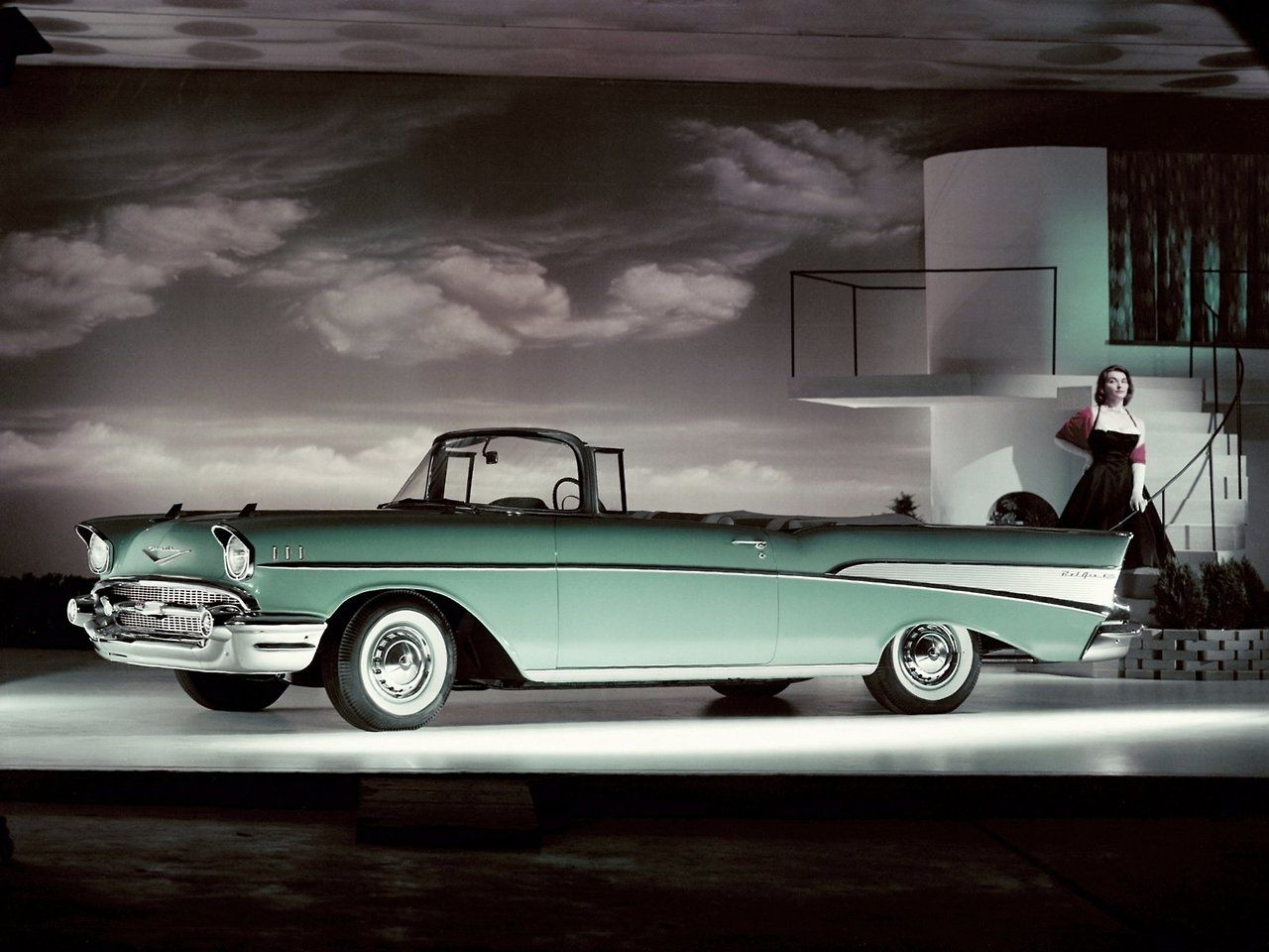 1957 Chevrolet Bel Air Cabriolet Cars,Trucks,Motorcycles